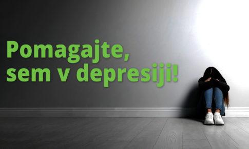 Jure, jaz sem v depresiji!