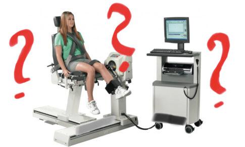 Ali so testiranja pri rehabilitaciji koristna?