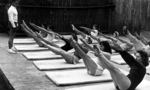 Vadba pilates in hrbtenica: Dobri, umazani, zli
