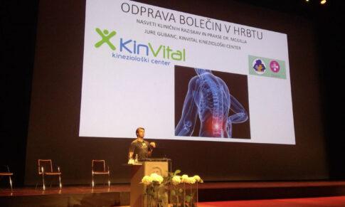 Mehanik hrbta na kongresu družinske medicine: Česa se lahko zdravniki naučijo iz gibalne terapije?